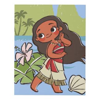 Moana | Island Girl Panel Wall Art