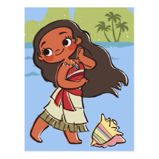 Moana | Island Girl Postcard