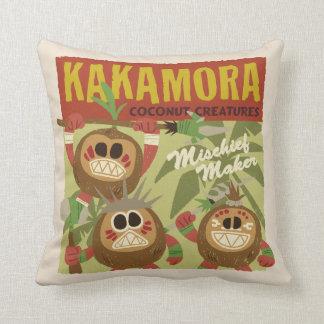 Moana   Kakamora - Coconut Creatures Throw Pillow