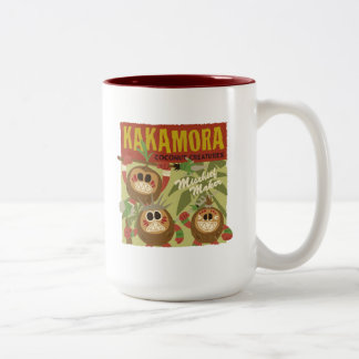 Moana | Kakamora - Coconut Creatures Two-Tone Coffee Mug