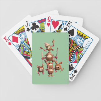 Moana | Kakamora - Coconut Pirates Bicycle Playing Cards
