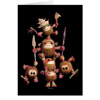 Moana | Kakamora - Coconut Pirates Card