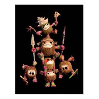Moana | Kakamora - Coconut Pirates Postcard