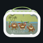"""Moana   Kakamora - Mischief Makers Lunch Box<br><div class=""""desc"""">The Kakamora are the evil, coconut covered pirates from the world of Moana. These little Disney characters may look cute but don&#39;t be fooled! They&#39;re mischief makers of the highest order. Stealing from the islands of the pacific. Take an adventure with these kids characters that are sure to liven up...</div>"""