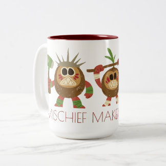 Moana | Kakamora - Mischief Makers Two-Tone Coffee Mug