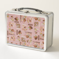 Moana & Kakamora Vintage Pattern Metal Lunch Box