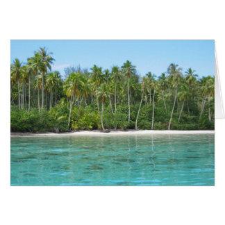 Moana Lagoon on Moorea Card