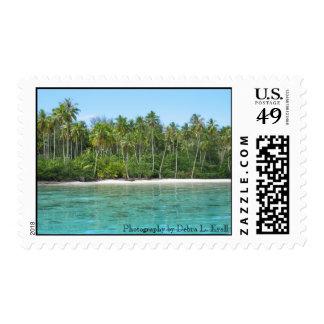Moana Lagoon on Moorea Postage