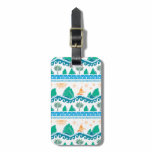 Moana | Land And Sea Are One - Pattern Bag Tag