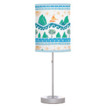 Moana | Land And Sea Are One - Pattern Desk Lamp