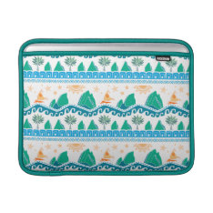 Moana | Land And Sea Are One - Pattern Macbook Air Sleeve at Zazzle