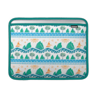 Moana | Land And Sea Are One - Pattern MacBook Air Sleeve