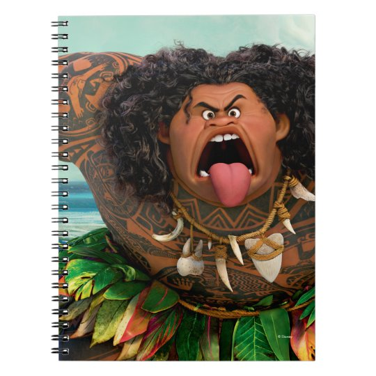 Moana Maui Don T Trick A Trickster Notebook Zazzle Com