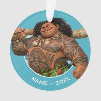 Moana | Maui - Hook Has The Power Ornament