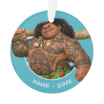 Moana | Maui - Hook Has The Power Ornament