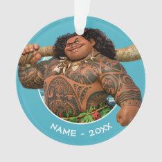 Moana | Maui - Hook Has The Power Ornament at Zazzle