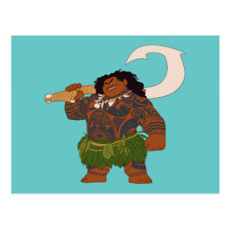Moana | Maui - Hook Has The Power Postcard
