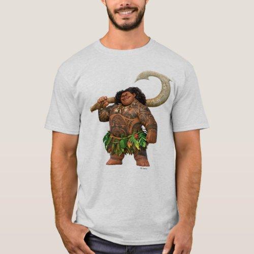 Moana  Maui _ Hook Has The Power T_Shirt