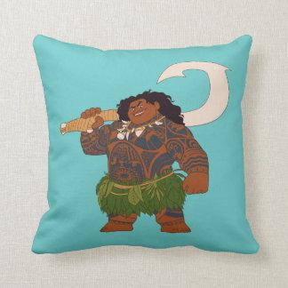Moana | Maui - Hook Has The Power Throw Pillow