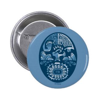 Moana | Maui - Island Lifter Pinback Button