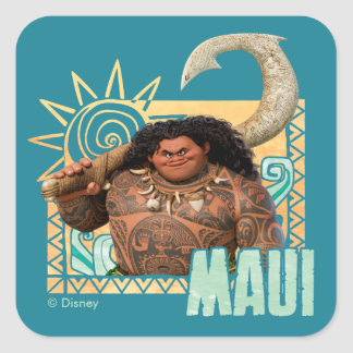 Moana | Maui - Original Trickster Square Sticker