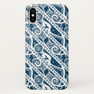 Moana | Maui - Shape Shifter Pattern iPhone X Case