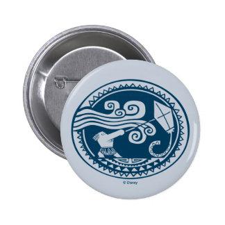 Moana   Maui - Trickster Pinback Button