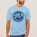 """Moana   Maui - Trickster T-Shirt<br><div class=""""desc"""">This cool Oceanic art print introduces the mischievous Maui from Disney&#39;s Moana. The intricate sketch depicts his alter ego,  Mini Maui and is inspired by the demigod&#39;s cultural tattoos from the animated adventure. Most of his Polynesian body art depicts his accomplishments and this one is no exception.</div>"""