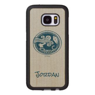 Moana | Maui - Trickster Wood Samsung Galaxy S7 Case
