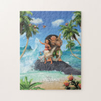 Moana Movie Poster Jigsaw Puzzle