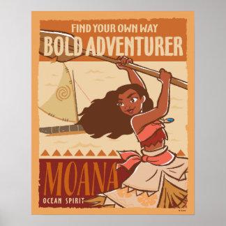 Moana   Ocean Spirit Poster