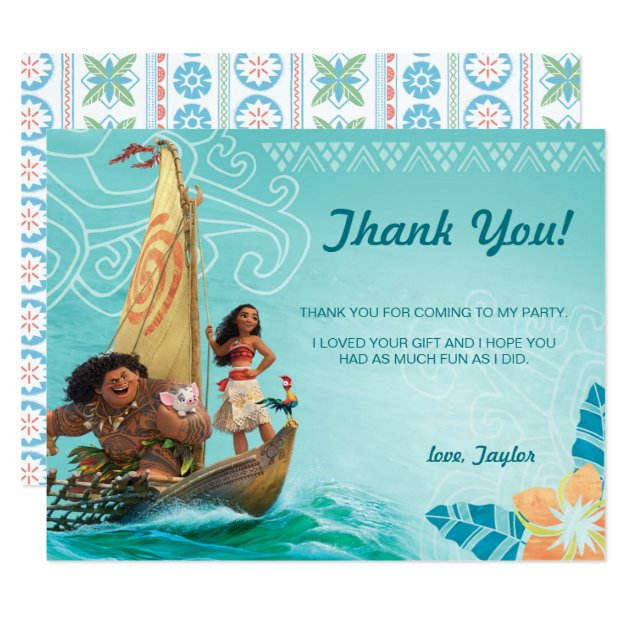 moana oceania birthday thank you card zazzle quinceanera crown clipart quinceanera clipart