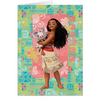 Moana | Pacific Island Girl Card