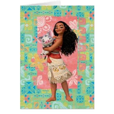 Moana Moana | Pacific Island Girl Card