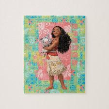 Moana   Pacific Island Girl Jigsaw Puzzle