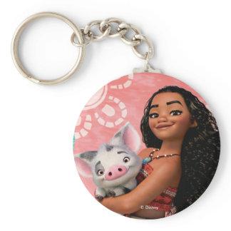 Moana | Pacific Island Girl Keychain