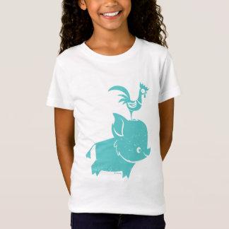 Moana   Pua & Heihei - Silhouette T-Shirt