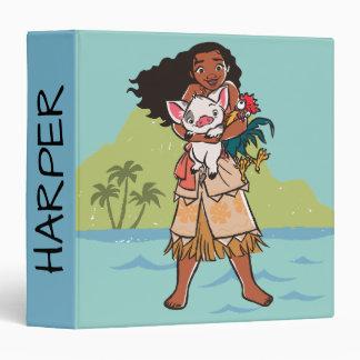 Moana | Pua & Heihei - Voyagers Binder
