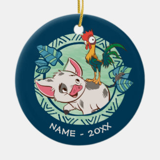 Moana | Pua & Heihei Voyagers Ceramic Ornament