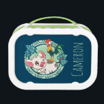 """Moana   Pua &amp; Heihei Voyagers Lunch Box<br><div class=""""desc"""">Let us introduce the adorable Pua and Heihei from Disney&#39;s animated adventure, Moana. These two are bound by their love and support for Moana. Who would have thought a rooster and a pot-bellied pig could be the best of friends? Mini adventurers and animal lovers will adore the tropical theme and...</div>"""