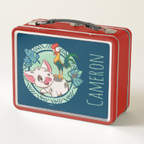 Moana | Pua & Heihei Voyagers Metal Lunch Box