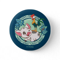 Moana | Pua & Heihei Voyagers Pinback Button