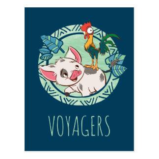 Moana | Pua & Heihei Voyagers Postcard
