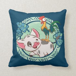 Moana | Pua & Heihei Voyagers Throw Pillow