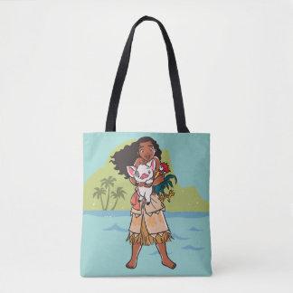 Moana   Pua & Heihei - Voyagers Tote Bag