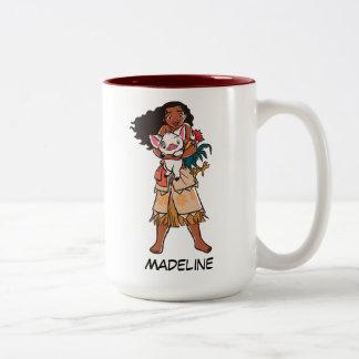 Moana | Pua & Heihei - Voyagers Two-Tone Coffee Mug
