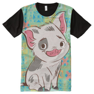 Moana | Pua - I'm No Bacon All-Over-Print T-Shirt