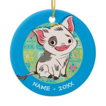 Moana | Pua - I'm No Bacon Ceramic Ornament