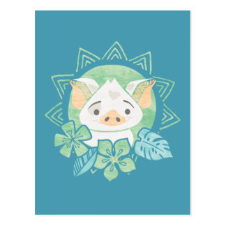 Moana | Pua - Not For Eating Postcard