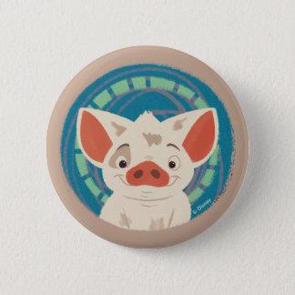 Moana   Pua The Pig Button